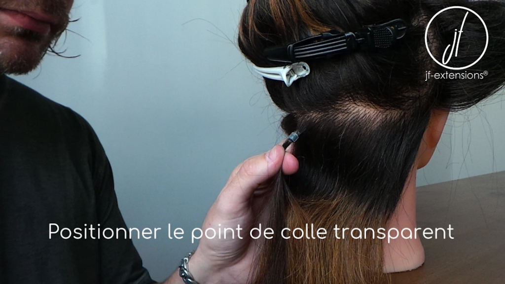 Comment renforcer le point de colle des extensions à chaud