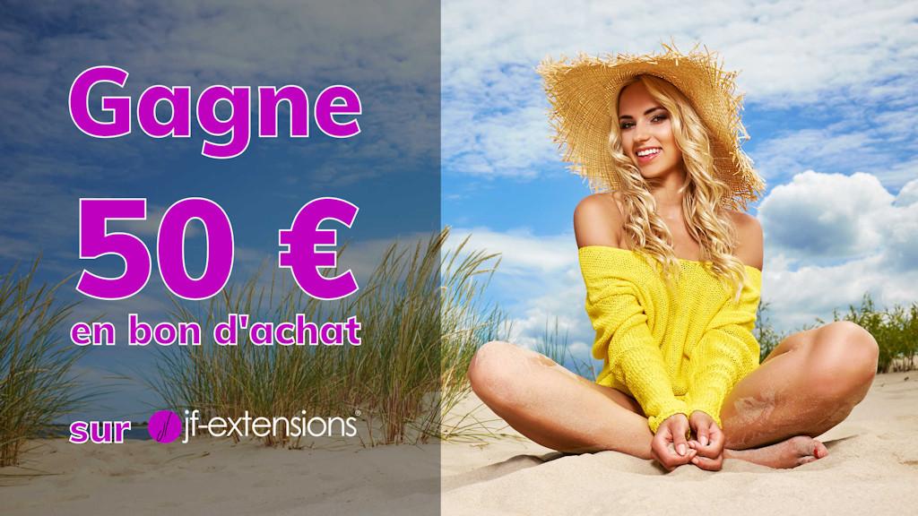 Inscris toi et gagne un bon d'achat de 50€ sur jf-extensions