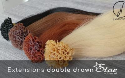 Que signifie extensions de cheveux double drawn ?